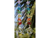 Crystal Gemstone Suncatchers and Gifts, Birthstone Guardian Angels and Gemstone Jewellery