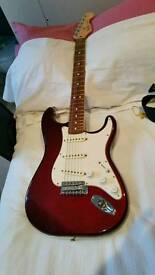 Fender Stratocaster Candy Apple Red