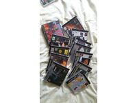 Empty boxes for Playstation games