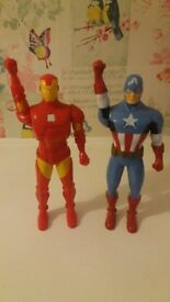Iron man & captain America walkie talkies