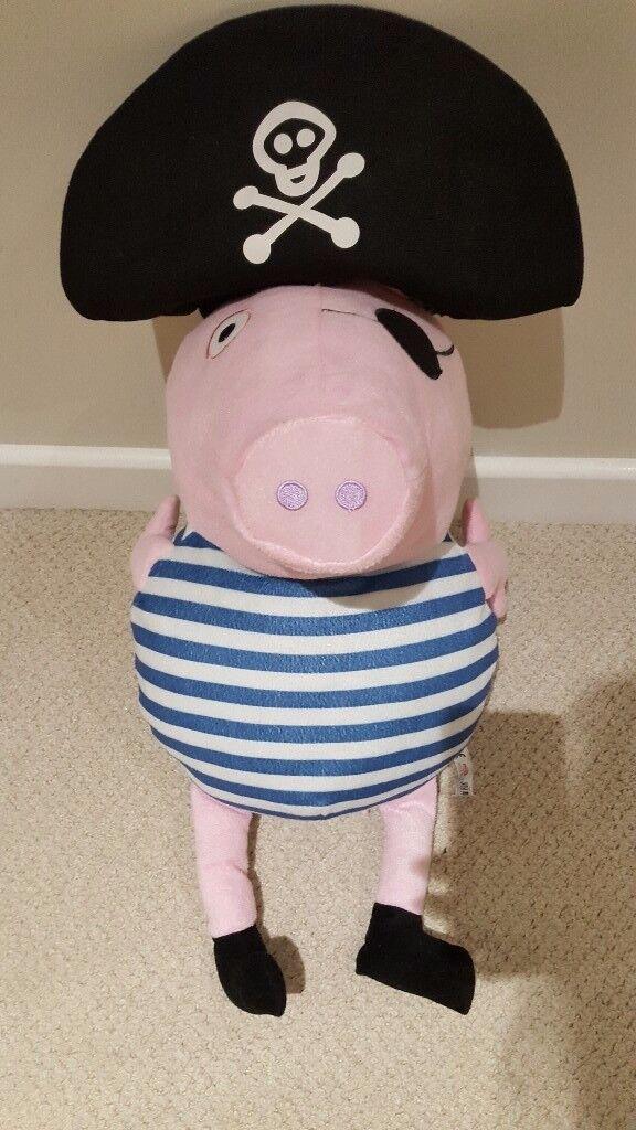 Large cuddley George Pig - peppa pig