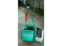 QUALCST CLASSIC 30 SELF PROPELLED ELECTRIC MOWER/SCARIFIER