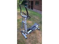Crosstrainer. Walking exercise machine. York fitness Platinum X720.
