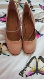 New with tags nude shoes size 4
