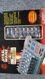 Star Wars episode 1 chess set still boxed
