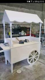 Candy cart and post box for sale