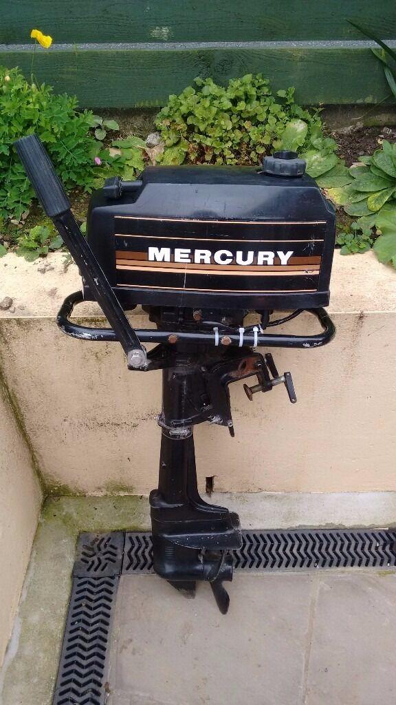 Mercury outboard motor 2 stroke in bodmin for Mercury outboard jet motors for sale