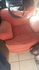 Free arm chair