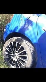 Tekno RX11 Alloys with tyres. £200.00