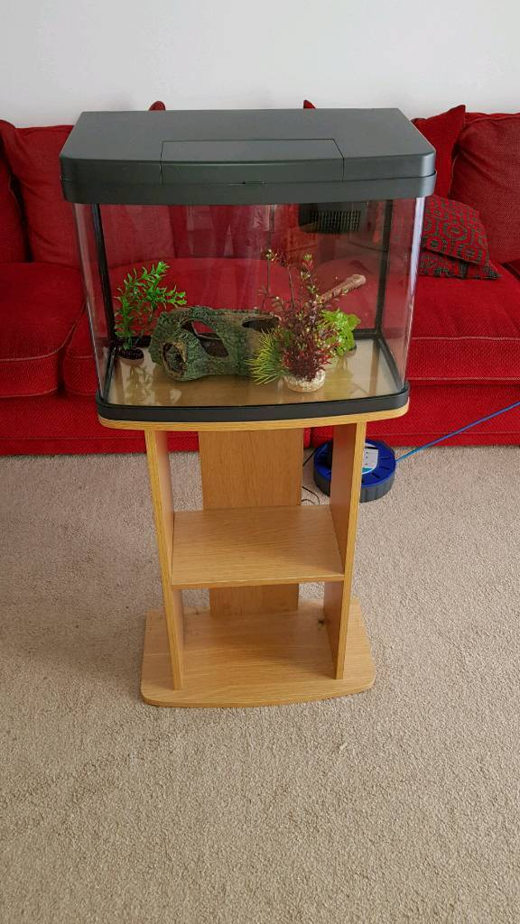 37 litre fish tank with stand