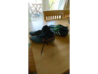 Two pairs of football boots size 8
