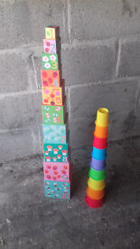 Stacking blocks x2