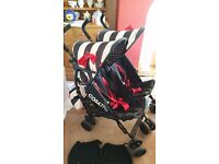 Cosatto Double Buggy Pushchair with extras
