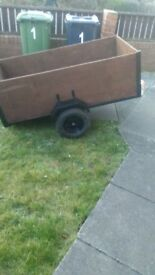 Trailer for sale 5ft, 3inches x 33 inches £120 ono