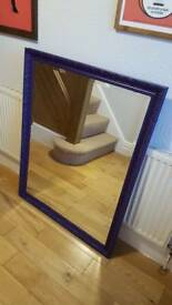 Purple Vintage Mirror