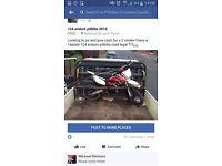2016 roadlegal pitbike 700 or nearest offers please