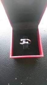 Diamond & Tanzanite ring