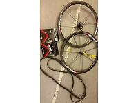 Rolf Prima TDF38 Carbon Road Bike Tubular Wheelset - 1220grams RRP $2200 - ZIPP,Mavic,Fulcrum