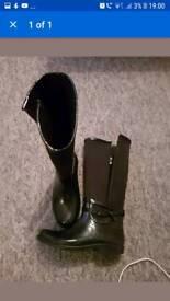 Zara girls boots 3-4