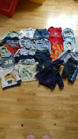 Baby boy bundle of clothes 6-9