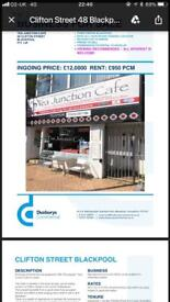 Large townn centre cafe