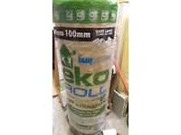 Loft insulation 100mm Eko roll x2
