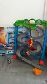 Thomas the tank engine Spills and Thrills on Sodor play set,used with box