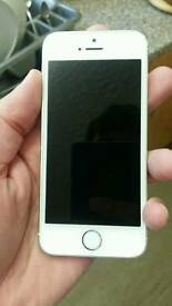 IPhone 5s 64gb white Color unlocked excellent condition like brand new