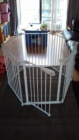 Mothercare top quality play pen and room divider in box