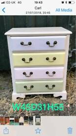 Small bedside drawer