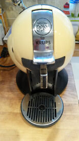Krups Nescafe Dolce Gusto Espresso Machine - Cream