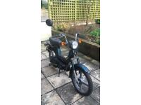 Vespa Si Piaggio 50cc Moped UK Plated 2 pounds for 140km like Ciao o Bravo