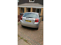 Toyota Corolla SILVER 1.4 VVT-i T3 5dr - 95,200 Miles