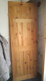 Internal Solid Pine Door