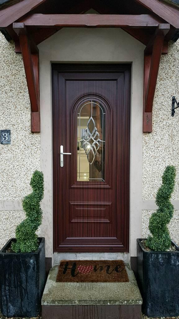 Mahogany Upvc Front Door In Doagh County Antrim Gumtree
