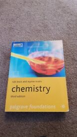 Palgrave foundations chemistry textbook third edition