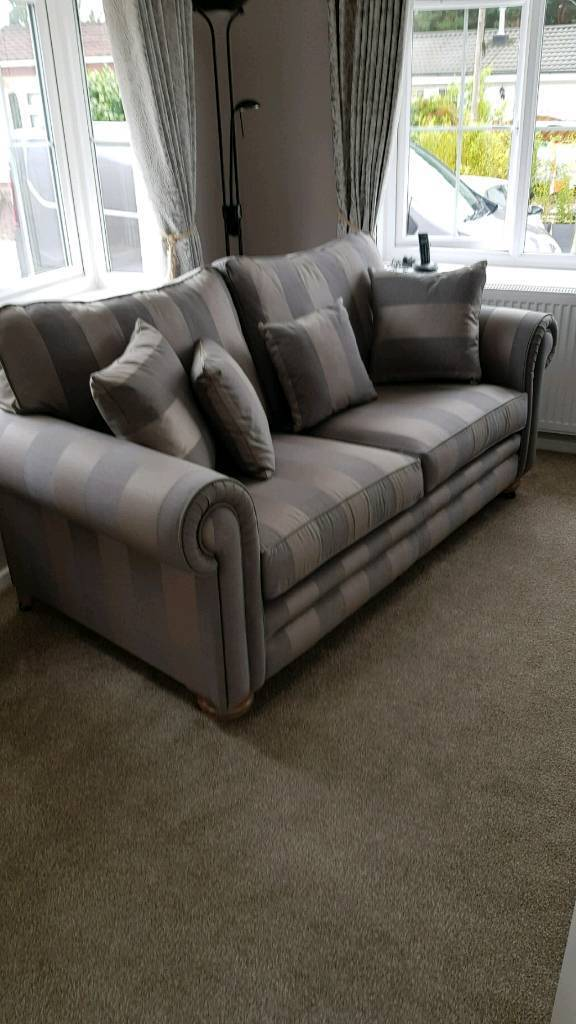 Brand New Posh Fabric Sofa In Poole Dorset Gumtree