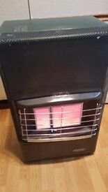 Calor gas heater. Complete with Bottle with gas & regulator