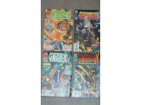 Original generation X (X-men) comic books: no. 6, 12, 19 and 23. Marvel comics.