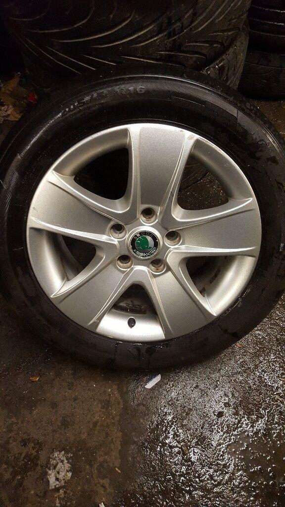 "Cheap 16"" skoda alloys wheels for sale"