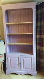Pink Wooden Shabby Chic Bookcase