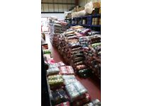 Large selection of yarn to choose from