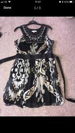 Party dresses £5 each sz 12