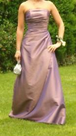 Pink / purple bridesmaid dress