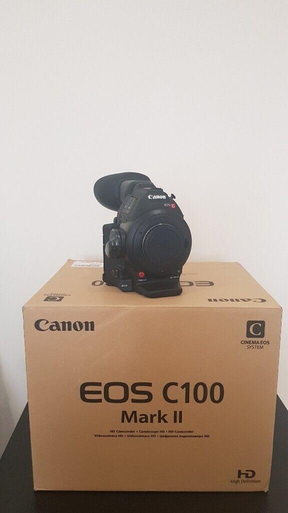 Canon C 100 Mark II - Quick sale needed | in Heathrow, London | Gumtree
