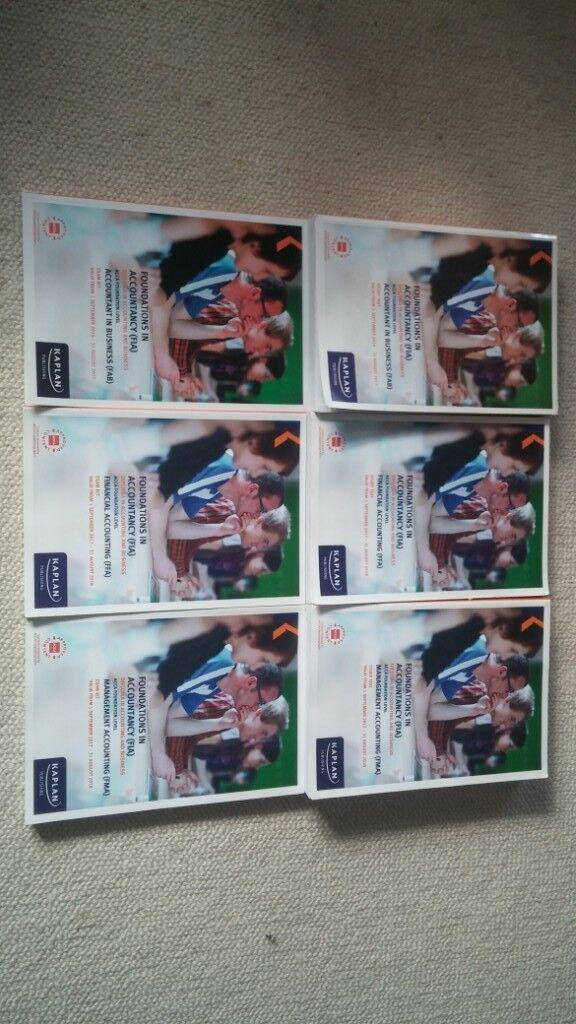 ACCA study text and exam kit for F1,F2,F3 | in Wembley, London | Gumtree