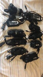 Laptops chargers & batteries HP Acer Toshiba dell Lenovo etc