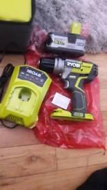 Ryobi brushless hammer drill