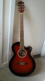 Santa Fe Electro-Acoustic Guitar - Good working order