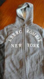 Abercrombie Kids fleece hooded jacket 11/12 years